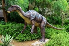 Dinosaurusbeeldhouwwerk royalty-vrije stock afbeelding