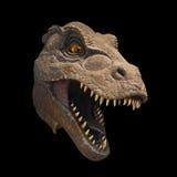 Dinosaurushoofd, Khon Kaen, Thailand Stock Foto