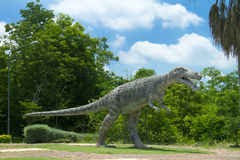 Dinosaurusmuseum Royalty-vrije Stock Foto's