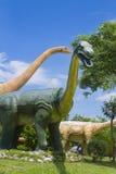 Dinosaurusmuseum Royalty-vrije Stock Afbeeldingen