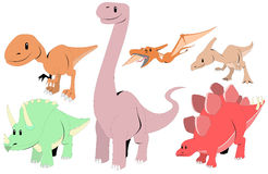 Dinosaurussen Stock Fotografie