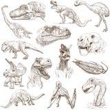 Dinosaurussen Royalty-vrije Stock Afbeelding