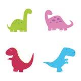 dinosaurussen Stock Afbeelding