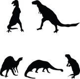 Dinosaurussen. Stock Fotografie