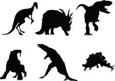 Dinosaurussen. Stock Foto
