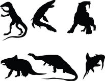 Dinosaurussen. Royalty-vrije Stock Foto's