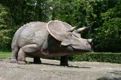Dinosaurussen - Triceratops Royalty-vrije Stock Foto's