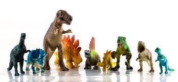 Dinosaurusspeelgoed Royalty-vrije Stock Afbeelding