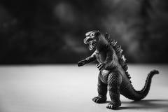 Dinosaurusstuk speelgoed royalty-vrije stock afbeeldingen