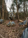 Dinosauruswereld Stock Foto