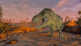 dinosaury obrazy stock