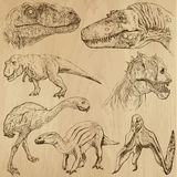 Dinosaury 2 Obraz Stock