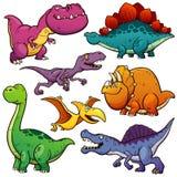 Dinosaury ilustracja wektor