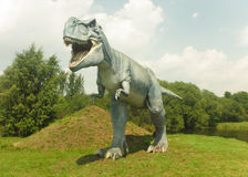 Dinosaury Dinosaura park Zdjęcia Royalty Free