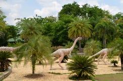 dinosaury trawożerni Obrazy Royalty Free