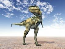 Dinossauro Bistahieversor ilustração do vetor