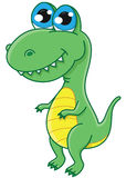 Dinossauro bonito Fotografia de Stock Royalty Free