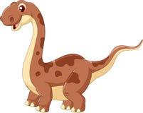 Dinossauro bonito adorável ilustração do vetor