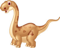 Dinossauro bonito adorável Fotografia de Stock Royalty Free