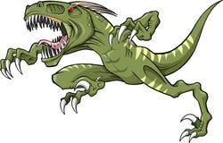 Dinossauro da ave de rapina Fotos de Stock