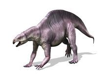 Dinossauro de Lotosaurus Foto de Stock