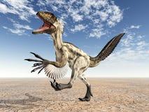 Dinossauro Deinonychus ilustração do vetor