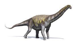 Dinossauro do Argentinosaurus ilustração do vetor