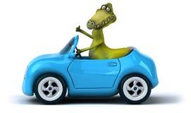Dinossauro do divertimento ilustração royalty free