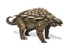 Dinossauro do Gargoyleosaurus Fotos de Stock