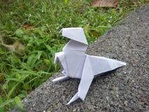Dinossauro do origâmi Imagens de Stock