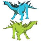 Dinossauro do Stegosaurus Fotos de Stock