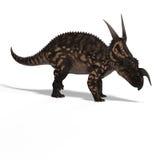 Dinossauro Einiosaurus Fotos de Stock