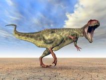 Dinossauro Giganotosaurus ilustração do vetor