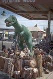 Dinossauro hirto de medo Imagem de Stock Royalty Free