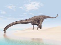 Dinossauro Puertasaurus ilustração do vetor