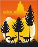 Dinossauro - vetor Imagens de Stock Royalty Free