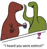 Dinossauros Foto de Stock