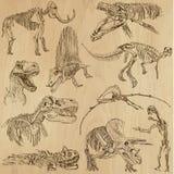 Dinossauros 5 Fotos de Stock Royalty Free