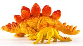 Dinossauros do brinquedo Imagem de Stock