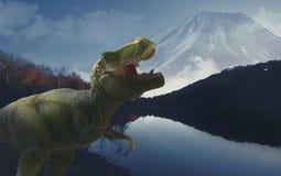 Dinosuar illustration stock