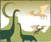 dinozaur royalty ilustracja