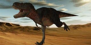 dinozaur bataar tarbosaurus 3 d Obraz Royalty Free