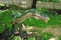 Dinozaur zelofiz. Dinosaur type species of bloodthirsty predator Stock Photography