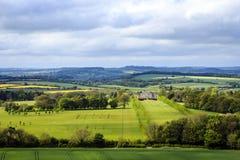 Dinton公园和Philipps议院,威尔特郡,英国 免版税库存照片