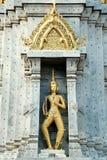 Dio, angelo sulla pagoda in Wat Pho Buddhist Temple, Fotografie Stock Libere da Diritti
