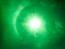 Dio benedice il sole e la luce Fotografie Stock