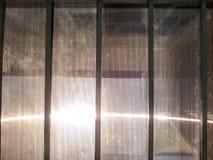 Dio benedice il sole e la luce nel cielo sul tetto Fotografia Stock Libera da Diritti