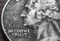 In Dio ci fidiamo di Fotografia Stock Libera da Diritti