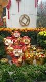 Dio cinese di ricchezza Fotografia Stock