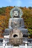 Dio del tempiale di Seoraksan Fotografie Stock